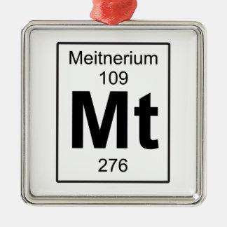 Mt - Meitnerium Metal Ornament