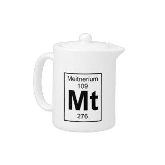 Mt - Meitnerium Teapot