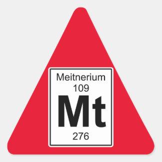 Mt - Meitnerium Triangle Sticker