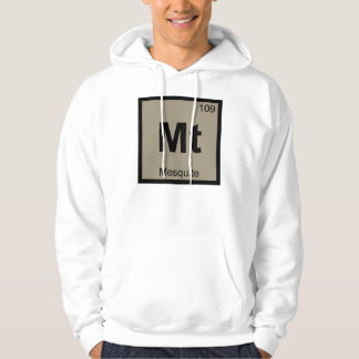 Mt - Mesquite Texas BBQ Chemistry Periodic Table Hoodie