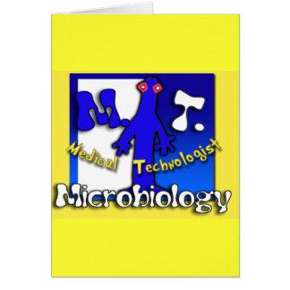 MT - MICROBIOLOGY - MEDICAL TECHNOLOGIST CARD
