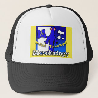 MT - MICROBIOLOGY - MEDICAL TECHNOLOGIST TRUCKER HAT