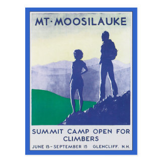 Mt.Moosilauke New Hampshire Postcard