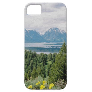 Mt. Moran and Jackson Lake iPhone SE/5/5s Case