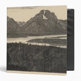 "Mt Moran, Wyo Carpeta 1 1/2"""