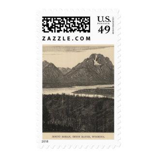 Mt Moran, Wyo Stamps