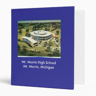 Mt. Morris High School binder