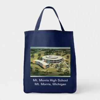 Mt. Morris High School tote Grocery Tote Bag