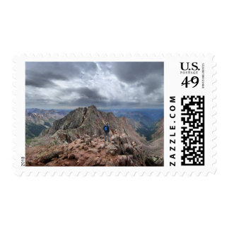 Mt Nebo and the Catwalk - Chicago Basin - Colorado Postage
