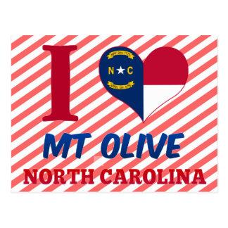 Mt Olive, North Carolina Postcard