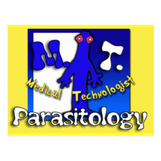 MT - PARASITOLOGY - MEDICAL TECHNOLOGIST (LAB) POSTCARD