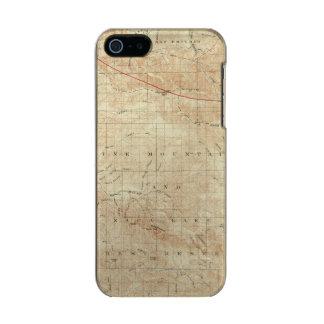 Mt Pinos quadrangle showing San Andreas Rift Incipio Feather® Shine iPhone 5 Case
