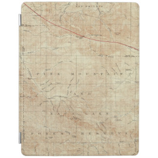 Mt Pinos quadrangle showing San Andreas Rift iPad Cover