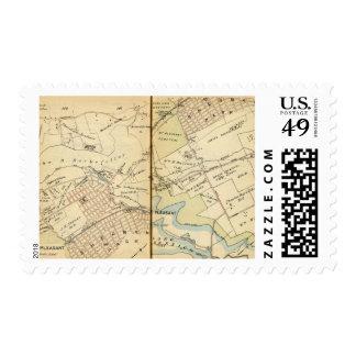 Mt. Pleasant, New York 2 Stamp