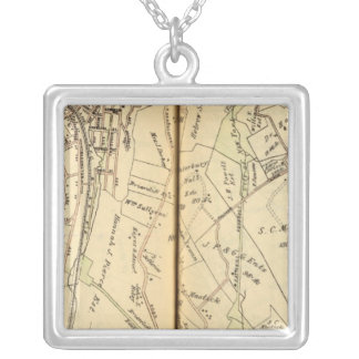 Mt. Pleasant, New York 3 Silver Plated Necklace