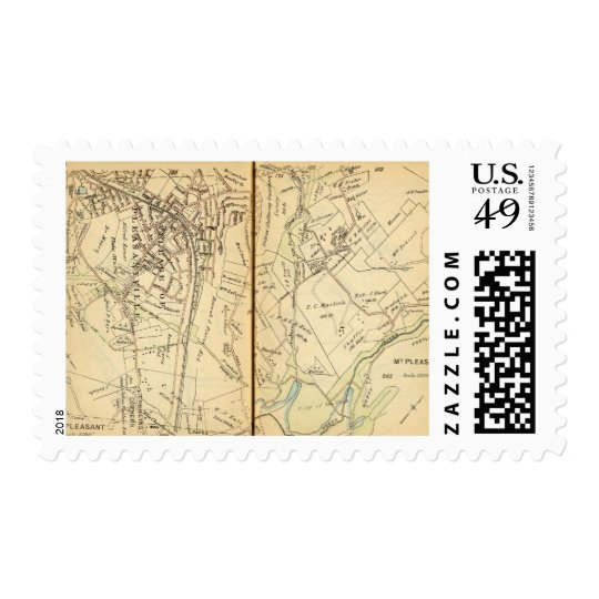 Mt. Pleasant, New York 3 Stamp