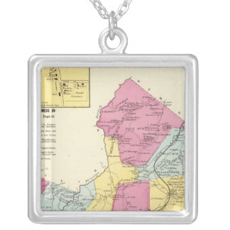 Mt Pleasant, Town Silver Plated Necklace