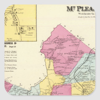 Mt Pleasant, Town Square Sticker