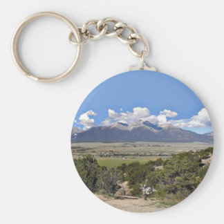 Mt Princeton and Arkansas River Valley Keychain