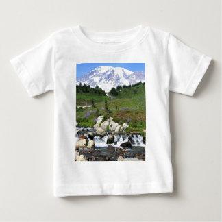 Mt Rainer, cala de Edith Playera De Bebé