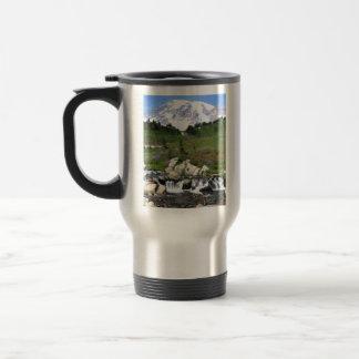 Mt Rainer, Edith Creek 15 Oz Stainless Steel Travel Mug