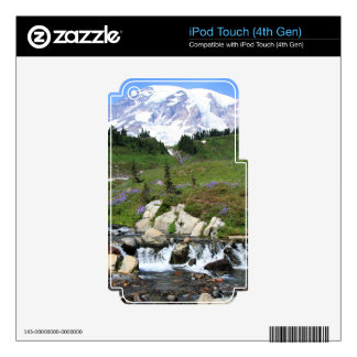 Mt Rainer Edith Creek iPod Touch 4G Decals