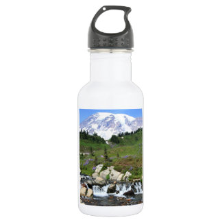 Mt Rainer, Edith Creek Stainless Steel Water Bottle