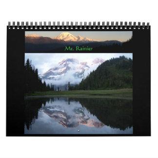 Mt Rainier 2012 Calendar