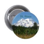 Mt. Rainier 2 Inch Round Button