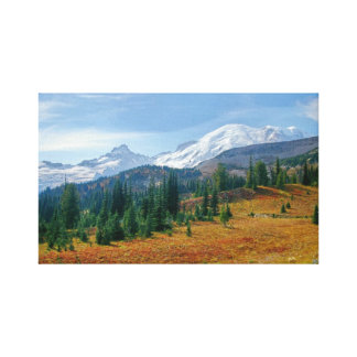 Mt. Rainier and Little Tahoma Canvas Print