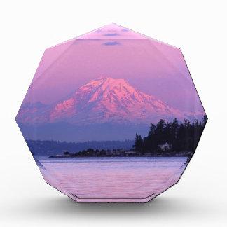 Mt. Rainier at Sunset, Washington State. Acrylic Award