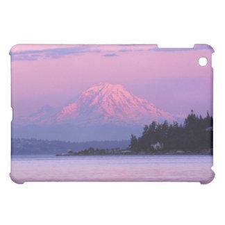 Mt. Rainier at Sunset, Washington State. iPad Mini Cases
