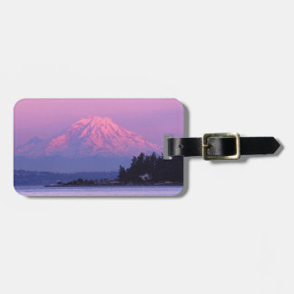 Mt. Rainier at Sunset, Washington State. Luggage Tag