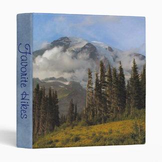 Mt Rainier Binder
