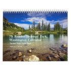 Mt Rainier Calendar