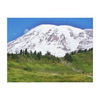 Mt Rainier Canvas Print