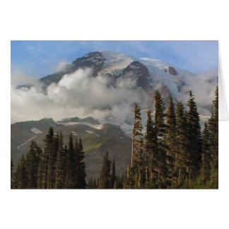 Mt Rainier Card