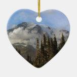 Mt Rainier Christmas Ornaments