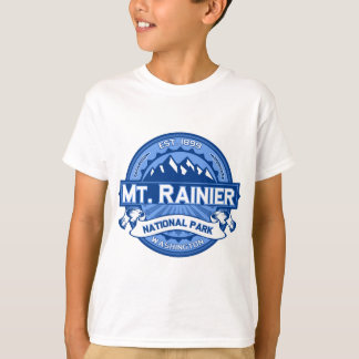 Mt. Rainier Cobalt T-Shirt