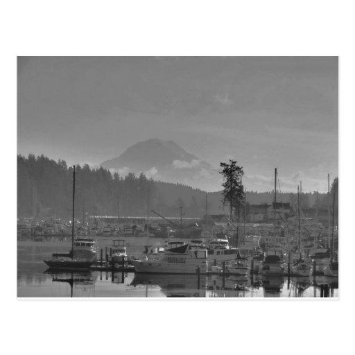 Mt. Rainier from Gig Harbor Post Card