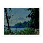 Mt. Rainier from Owen Beach Post Card
