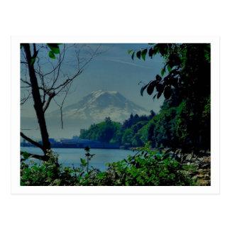 Mt. Rainier from Owen Beach Postcard