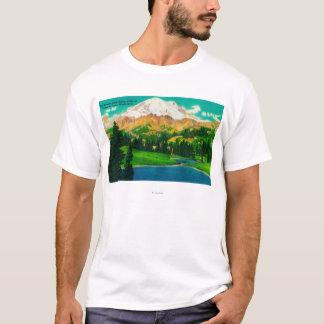 Mt. Rainier from Tipsoo Lake at Chinook Pass T-Shirt