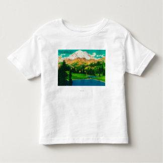 Mt. Rainier from Tipsoo Lake at Chinook Pass Toddler T-shirt