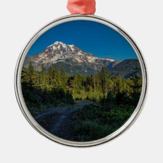 Mt. Rainier in Washington Metal Ornament