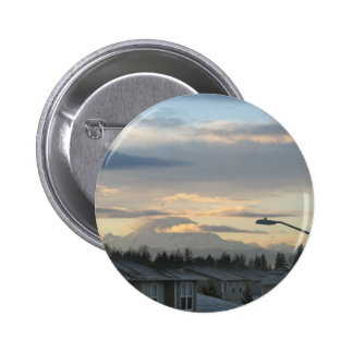 Mt. Rainier in Washington State Buttons