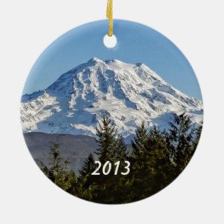 Mt. Rainier Keepsake Christmas Ornaments