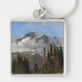 Mt Rainier Keychain
