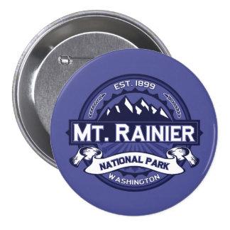 Mt. Rainier Midnight Button