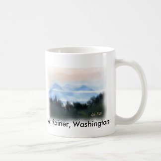 mt rainier, Mt. Rainer, Washington Coffee Mugs